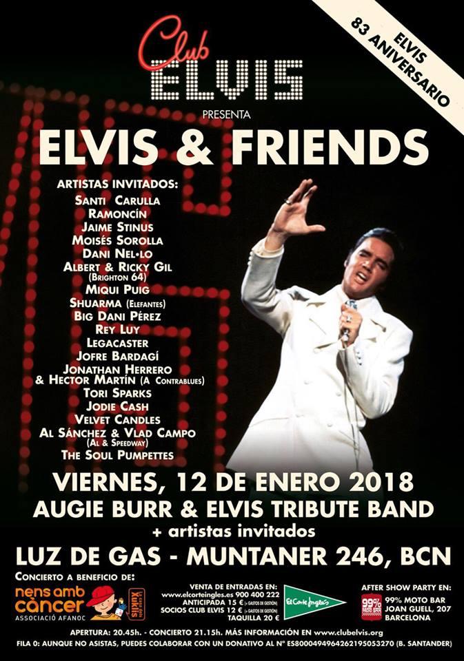 Ramoncin en el homenaje a Elvis Presley